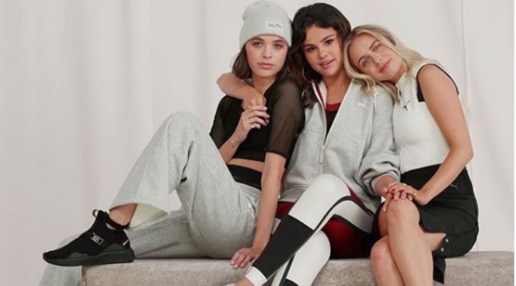 Selena Gomez New Range of PUMA Collection